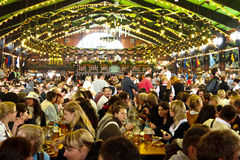 Oktoberfest 2010 in München Stock Afbeelding