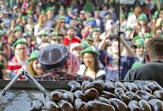 Oktoberfest 2012 del damerino Immagine Stock