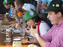 Oktoberfest 2012 del damerino Immagini Stock