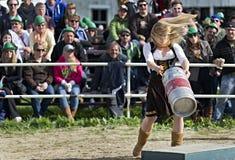 Oktoberfest 2012 del damerino Immagine Stock Libera da Diritti