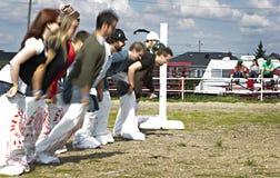 Oktoberfest 2012 del galán Imagen de archivo libre de regalías