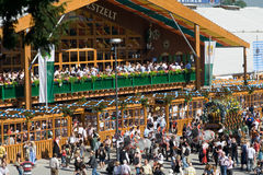 Oktoberfest. On the Theresienwiese in Munich, Bavaria, Germany Stock Photo
