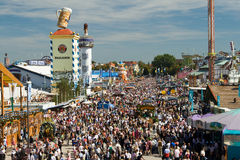 Oktoberfest. On the Theresienwiese in Munich, Bavaria, Germany Royalty Free Stock Photography