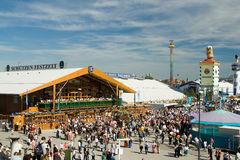 Oktoberfest. On the Theresienwiese in Munich, Bavaria, Germany Royalty Free Stock Images