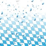 Oktoberfest abstract background with confetti. Octoberfest abstract background with confetti. Vector design Royalty Free Stock Image