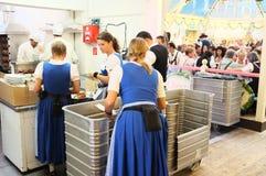 Oktoberfest, atrás das cenas (2013) Fotografia de Stock Royalty Free