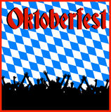 Oktoberfest background Royalty Free Stock Photography