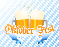 Oktoberfest background Royalty Free Stock Images