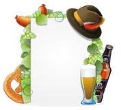 Oktoberfest background Stock Image