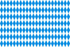 Oktoberfest background with blue checked repeatable rhombus Royalty Free Stock Images