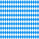 Oktoberfest background. Blue and white rhombus Stock Photography