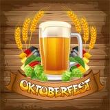 Oktoberfest background Royalty Free Stock Image