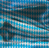 Oktoberfest background pattern. Oktoberfest bavarian traditional blue and rhombus background pattern. Grunge Fiber Texture. Grainy texture of weaving fabric Royalty Free Stock Photos