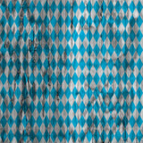 Oktoberfest background pattern. Oktoberfest bavarian traditional blue and rhombus background pattern. Wood texture Royalty Free Stock Image