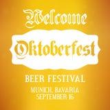 Oktoberfest background. Vector design template for beer festival in Germany  Stock Images