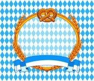 Oktoberfest bakgrund Royaltyfri Bild