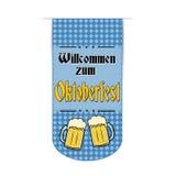 Oktoberfest banner design Stock Image