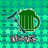 Oktoberfest banner. Germany beer festival Oktoberfest. Beer sign. Oktoberfest banner. Germany beer festival Oktoberfest Stock Photos