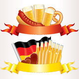 Oktoberfest Banners royalty free illustration