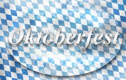 Oktoberfest Bavaria Flag Design Royalty Free Stock Photo