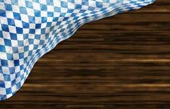 Oktoberfest Bavaria Wood Flag Design. Oktoberfest Bavaria Wood Flag Creative Background Design Stock Images