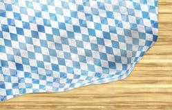 Oktoberfest Bavaria Wood Flag Design Royalty Free Stock Photo