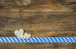 Oktoberfest or Bavarian Background Stock Photography