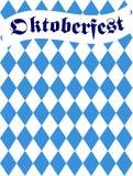 Oktoberfest bavarian flag pattern