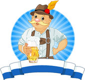 Oktoberfest Bayer Stockbild