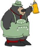 Oktoberfest Bear Stock Image