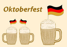 Oktoberfest and beer Stock Photo