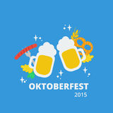 Oktoberfest beer Royalty Free Stock Images