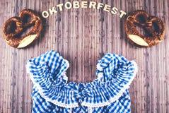 Oktoberfest beer festival background. Stock Photo