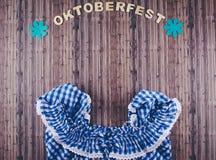 Oktoberfest beer festival background. Royalty Free Stock Photos