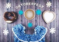 Oktoberfest beer festival background. Stock Photos