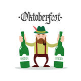 Oktoberfest Beer Festival Holiday Decoration Banner Royalty Free Stock Image
