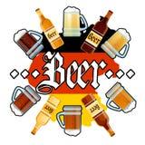 Oktoberfest Beer Festival Holiday Decoration Banner Stock Image