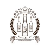 Oktoberfest Beer Festival Logo Holiday Decoration Posters Design Royalty Free Stock Photography