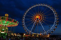 Oktoberfest beer festival in Munich, Germany Royalty Free Stock Photos