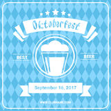 Oktoberfest Beer Festival Poster Holiday Decoration Banner Royalty Free Stock Photo