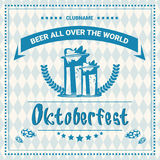 Oktoberfest Beer Festival Poster Holiday Decoration Banner Royalty Free Stock Image