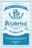Oktoberfest Beer Festival Poster Holiday Decoration Banner Royalty Free Stock Photos