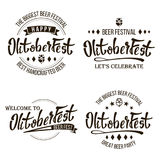 Oktoberfest Beer Festival Vector. Celebration Retro Typography Design. Print Template Good For Poster Or Flyer. Isolated Stock Photography