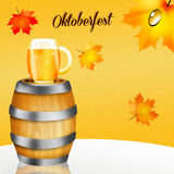 Oktoberfest beer Stock Photography