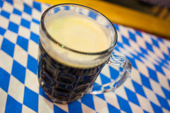 Oktoberfest Beer in Glass Royalty Free Stock Photography
