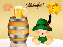 Oktoberfest beer Royalty Free Stock Image