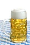 Oktoberfest Beer stein (mug). Close-up of original Bavarian Oktoberfest Beer stein (mug Stock Photos