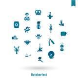 Oktoberfest Bierfestival Stockbilder
