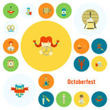 Oktoberfest Bierfestival Lizenzfreie Stockfotos