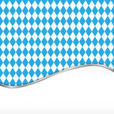 Oktoberfest blue background Stock Photos
